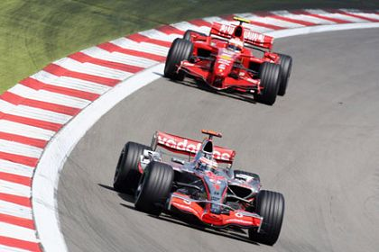 Alonso and Raikkonen