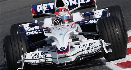 Kubica in the F1.08