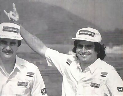 Mansell and Piquet