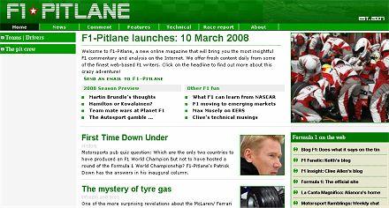 F1-Pitlane screenshot