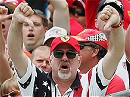 American fans