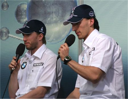 Heidfeld and Kubica