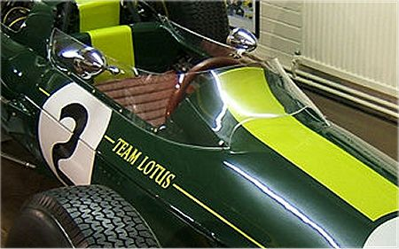 Lotus 25 windshield