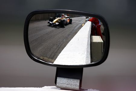 Renault in mirror