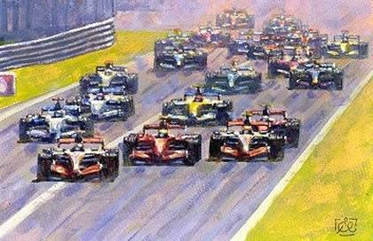 Monza start