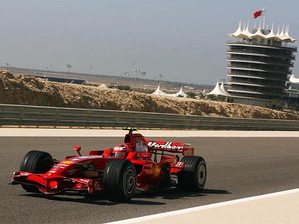 Raikkonen and Ferrari F2008