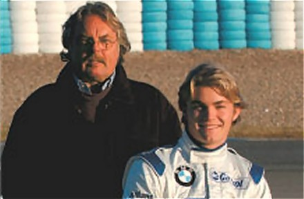 Keke and Nico Rosberg