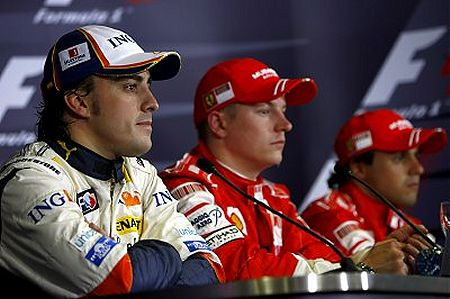 Podium interview