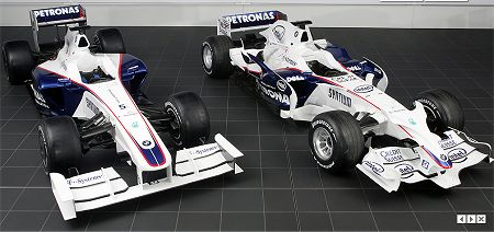BMWs F1.09 and F1.08