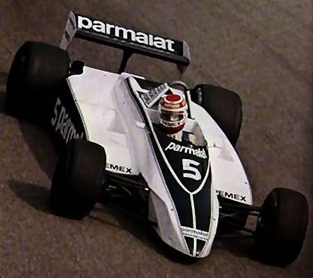 Nelson Piquet and Brabham BT49
