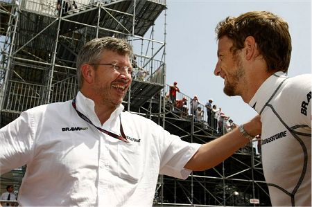 Brawn and Button