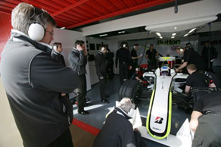 Ross Brawn and BGP 001