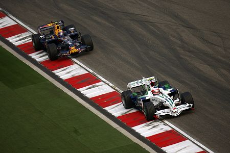 Barrichello and Webber
