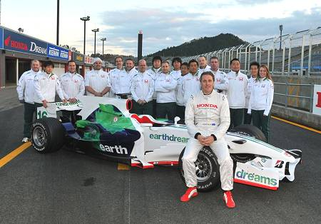 Honda F1 team
