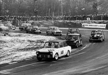 Racing Hillman Imp