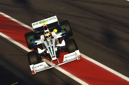 Bruno Senna and interim Honda