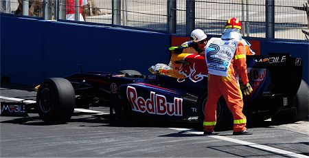 Vettel in Valencia