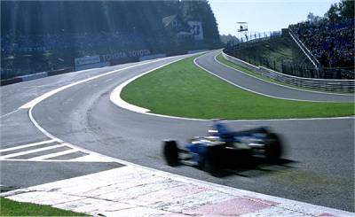 The mighty Eau Rouge