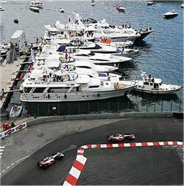 The harbor at Monaco